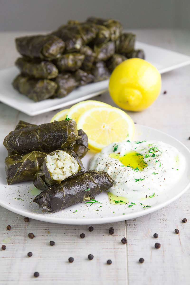 dolmades-on-a-plate